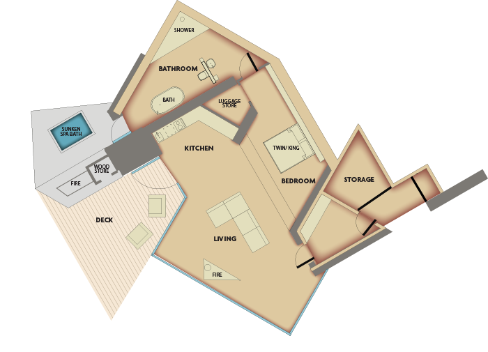 Floorplan of Seascape